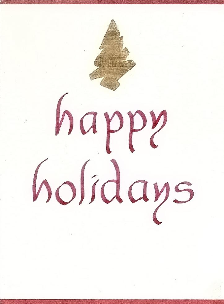 Happy Holidays (1991) – DESIGNS by jiminy