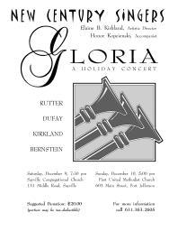 Concert Flyer (2000)