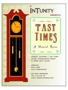 Concert Flyer (2001)