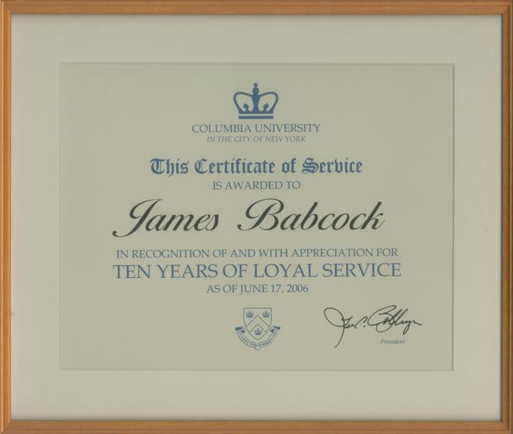 2006.06.17 Columbia Tens Years of Loyal Service crop