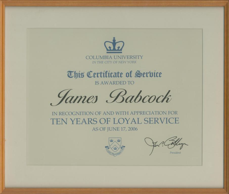 2006.06.17 Columbia Tens Years of Loyal Service crop