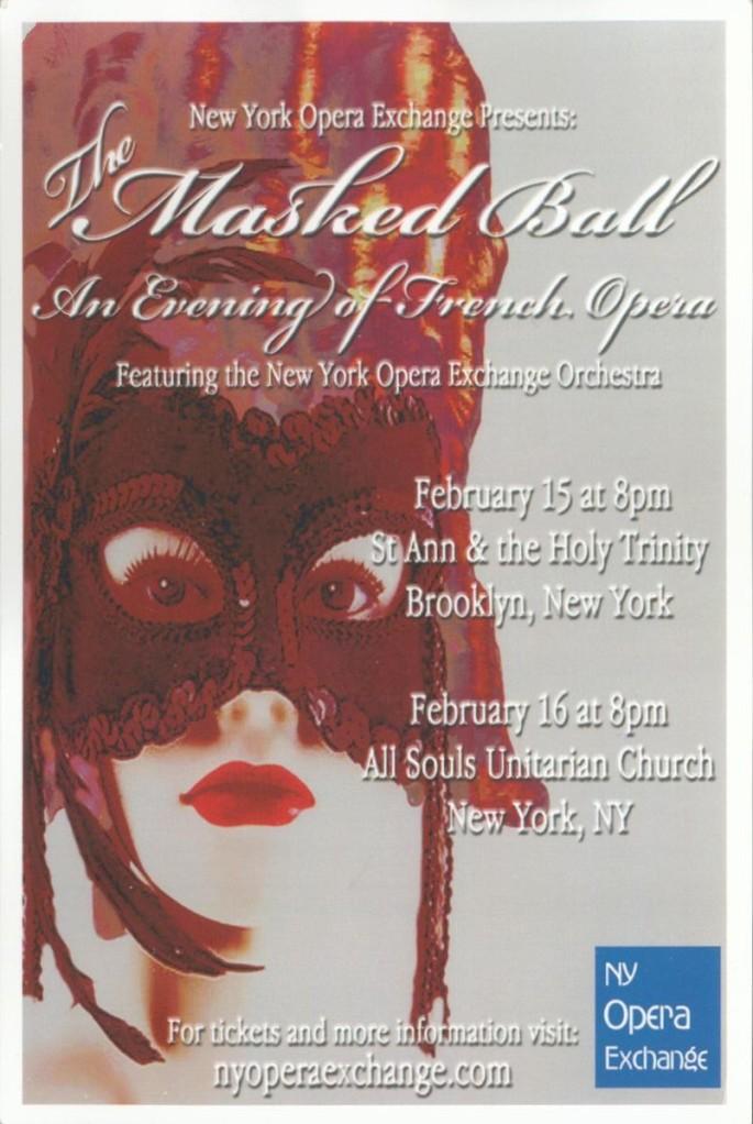 2013.02.15 NYOE A Masked Ball Postcard