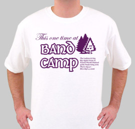 2006.08.23 Tshirt LGBAC Band Camp